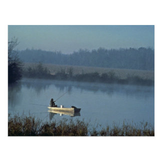 Fischerei Postkarte