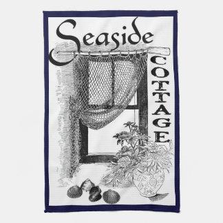 fishermans Küste-Hüttenfenster-Küchentuch Geschirrtuch