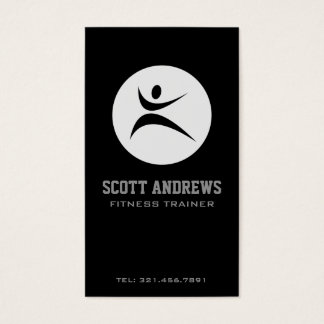 Fitness - Geschäfts-Karten Visitenkarten