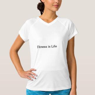 Fitness ist Leben T-Shirt