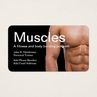 Fitness-Lehrer-persönlicher Trainer Visitenkarten