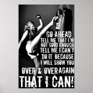 Fitness-Motivation Poster