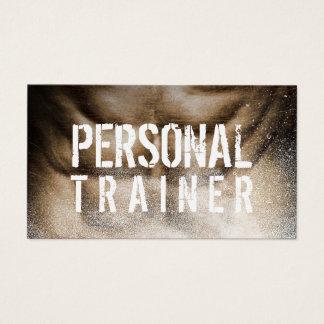 Fitness-persönlicher Trainer-Bodybuilder cool Visitenkarten