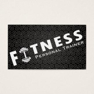 Fitness-persönlicher Trainer-mutiges Visitenkarten