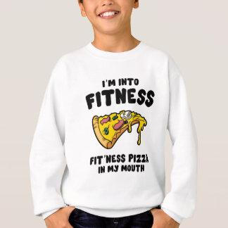 Fitness-Pizza Sweatshirt
