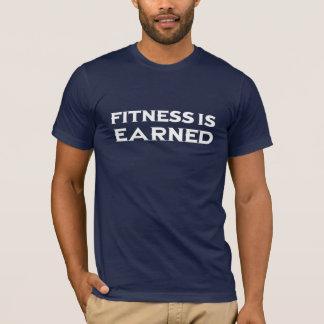 Fitness wird - Weiß erworben T-Shirt