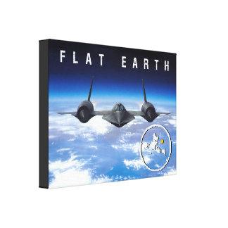 Flache Erde -- Leinwand 14 x 11