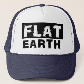 Flache Erdfernlastfahrer-Kappe Truckerkappe