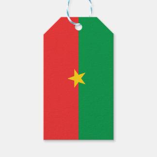 flag_burkina_farso geschenkanhänger