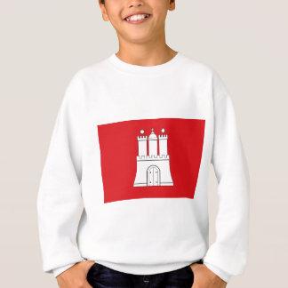Flag_of_Hamburg Sweatshirt