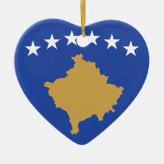 Flag_of_Kosovo Keramik Ornament