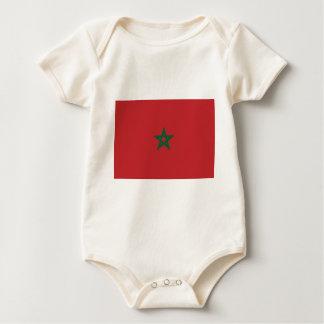 Flag_of_Morocco Baby Strampler