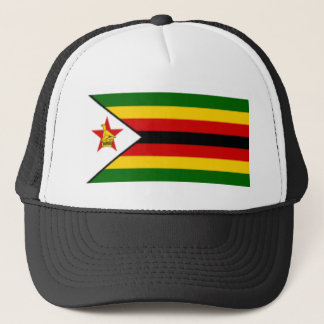 Flag_of_Zimbabwe Truckerkappe