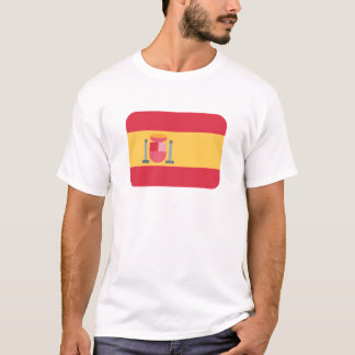 Flag spain Twitter emoji T-Shirt