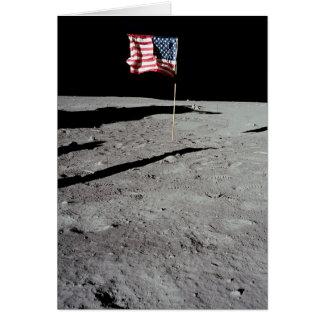Flagge auf Mond, Apollo 11, die NASA Karte