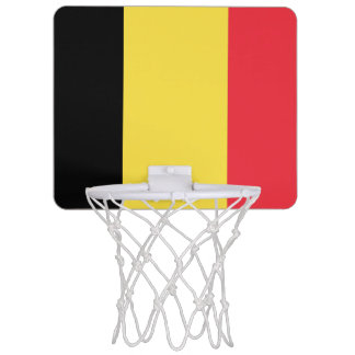 Flagge Belgiendes minibasketball-Ziels Mini Basketball Ring