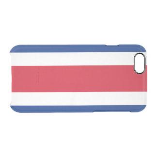 Flagge Costa Rica klaren iPhone Falles Durchsichtige iPhone 6/6S Hülle
