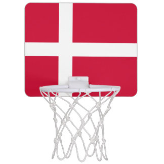 Flagge Dänemarkdes minibasketball-Ziels Mini Basketball Ring