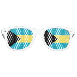 Flagge der Bahamas Retro Sonnenbrillen