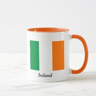 Flagge der Irland-Kaffee-Tasse Tasse