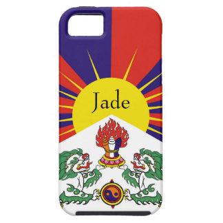 Flagge der Tibet- oder Schnee-Löwe-Flagge Etui Fürs iPhone 5