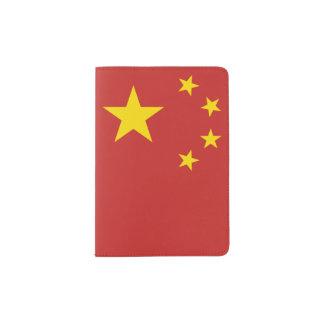 Flagge der Volksrepublik China - 中华人民共和国国旗 Passhülle