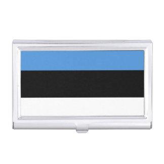Flagge des Estland-Visitenkarte-Halters Visitenkarten-Dosen