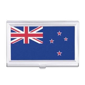 Flagge des Neuseeland-Visitenkarte-Halters Visitenkarten-Schatulle