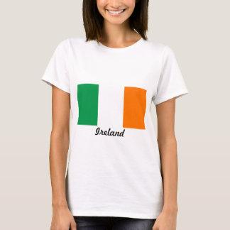 Flagge des T - Shirt Irland-Frau