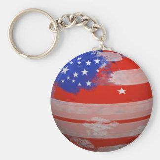 Flagge des USA Schlüsselanhänger