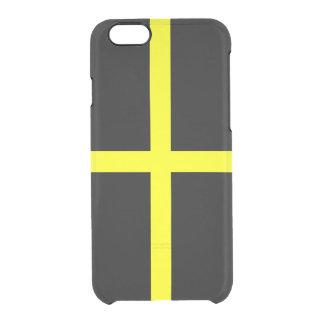 Flagge Heilig-David klaren iPhone Falles Durchsichtige iPhone 6/6S Hülle