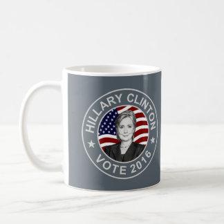Flagge Hillary Clintons US Tasse