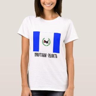 Flagge Irkutsks Oblast T-Shirt