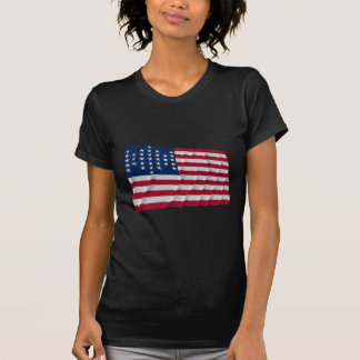 Flagge mit 33 Sternen, Fort Sumter Garnisonmuster T-Shirts