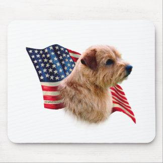 Flagge Norfolks Terrier Mauspads