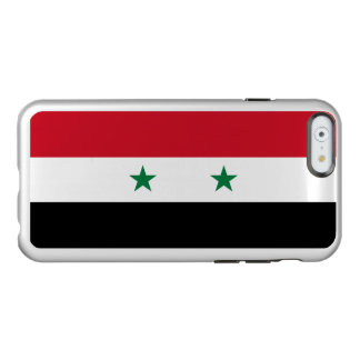 Flagge Syrien silbernen iPhone Falles Incipio Feather® Shine iPhone 6 Hülle