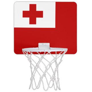 Flagge Tongades minibasketball-Ziels Mini Basketball Ring
