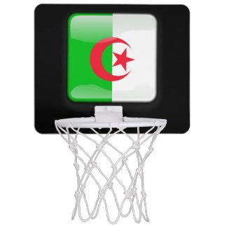 Flagge von Algerien Mini Basketball Netz