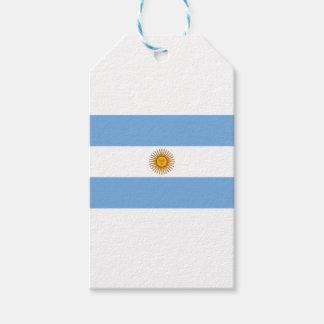 Flagge von Argentinien- - Banderade Argentinien Geschenkanhänger