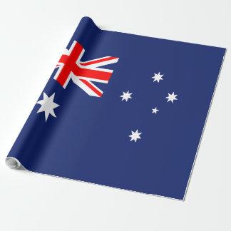 Flagge von Australien Geschenkpapier