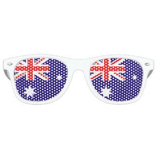 Flagge von Australien Retro Sonnenbrillen