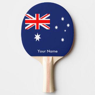 Flagge von Australien Tischtennis Schläger