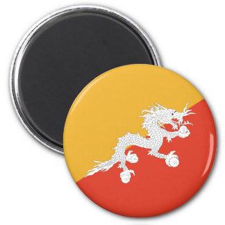 Flagge von Bhutan Magnete