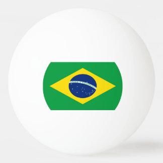 Flagge von Brasilien Ping-Pong Ball