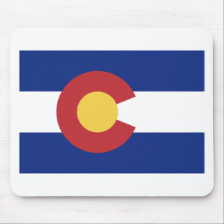 Flagge von Colorado Mauspads