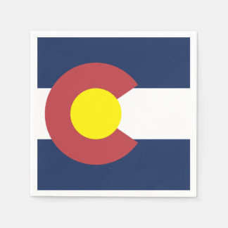 Flagge von Colorado Servietten