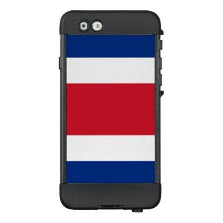 Flagge von Costa Rica LifeProof iPhone Fall LifeProof NÜÜD iPhone 6 Hülle