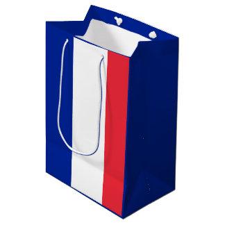 Flagge von Frankreich Mittlere Geschenktüte