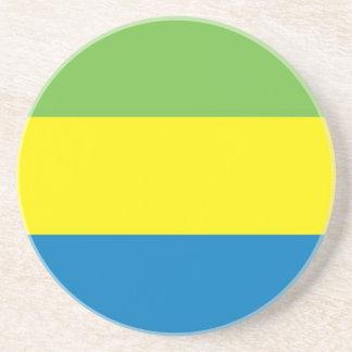 Flagge von Gabun Untersetzer