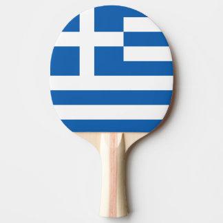 Flagge von Griechenland-Klingeln Pong Paddel Tischtennis Schläger